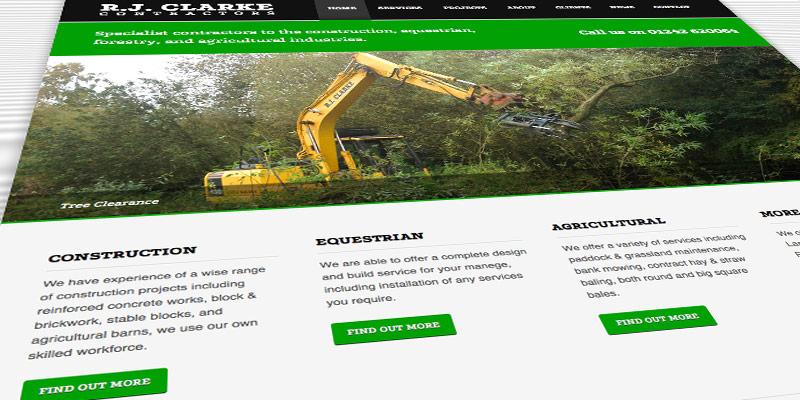 New RJ Clarke website